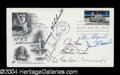 Autographs, Moonwalkers Signed First Day Cover w/Shepard, Conrad, Duke, etc.