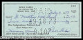 Autographs, Rosa Parks Uncommon Signed Bank Check