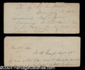 Autographs, Zebulon Pike Signed Document