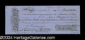 Autographs, Gioacchino Rossini Scarce Signed Document