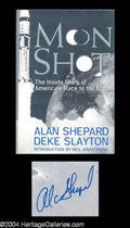 Autographs, Alan Shepard Signed First Edition Book