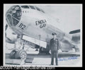Autographs, Paul Tibbets (Enola Gay) Signed 8 x 10 Photo
