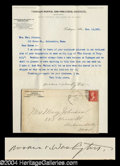 Autographs, Booker T. Washington Typed Letter Signed