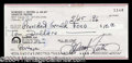 Autographs, Gerald R. Ford Uncommon Endorsed Bank Check