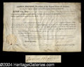 Autographs, James Monroe Signed Land Grant as President