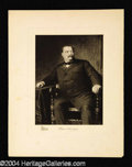 Autographs, Grover Cleveland Original 1901 Engraving