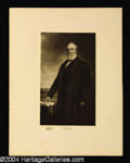 Autographs, Rutherford B. Hayes Original 1901 Engraving