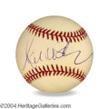 Autographs, Marcus Allen In-Person Signed Baseball