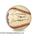 Autographs, Richard Dean Anderson Signed Baseball