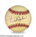 Autographs, Frankie Avalon In-Person Signed Baseball