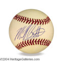 Autographs, Michael Bolton In-Person Signed Baseball
