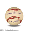 "Autographs, Charles ""Pete"" Conrad In-Person Signed Baseball"