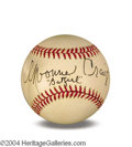 Autographs, Yvonne Craig In-Person Signed Baseball