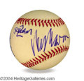 Autographs, Wes Craven In-Person Signed Baseball