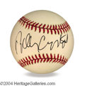 Autographs, Billy Crystal In-Person Signed Baseball