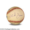 Autographs, Christopher Darden In-Person Signed Baseball