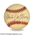 Autographs, Gloria De Haven In-Person Signed Baseball