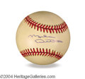 Autographs, Mike Ditka In-Person Signed Baseball