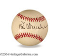 Autographs, Phil Donahue In-Person Signed Baseball