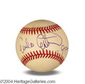 Autographs, Emilio Estevez In-Person Signed Baseball