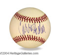 Autographs, Carrie Fisher In-Person Signed Baseball