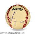 Autographs, Andy Garcia In-Person Signed Baseball