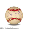 Autographs, John Goodman In-Person Signed Baseball