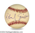 Autographs, Robert Guillaume In-Person Signed Baseball