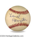 Autographs, Lionel Hampton In-Person Signed Baseball
