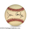 Autographs, Don Henley In-Person Signed Baseball