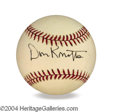Autographs, Don Knotts In-Person Signed Baseball