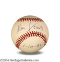 Autographs, Dr. Timothy Leary In-Person Signed Baseball