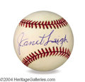 Autographs, Janet Leigh In-Person Signed Baseball