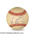 Autographs, Jay Leno In-Person Signed Baseball