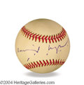 Autographs, David Lynch In-Person Signed Baseball