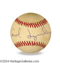 Autographs, Carol Lynley In-Person Signed Baseball