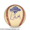 Autographs, Greg Maddux In-Person Signed Baseball
