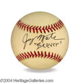 Autographs, Jerry Mathers (The Beaver) In-Person Signed Baseball