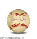 Autographs, Joe Montana Signed Baseball