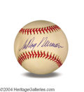 Autographs, LeRoy Neiman In-Person Signed Baseball
