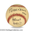 Autographs, Peter Noone In-Person Signed Baseball