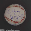 Autographs, NYPD Blue In-Person Signed Baseball