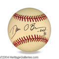 Autographs, Dan O' Brien In-Person Signed Baseball