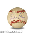 Autographs, Arnold Palmer In-Person Signed Baseball