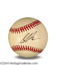 Autographs, Sean Penn In-Person Signed Baseball