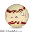 Autographs, Lori Petty In-Person Signed Baseball