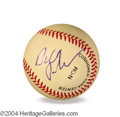 Autographs, Bill Pullman In-Person Signed Baseball