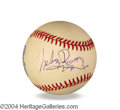 Autographs, Mickey Rooney In-Person Signed Baseball