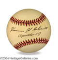 Autographs, Harrison Schmitt Signed Baseball