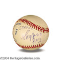 Autographs, Siegfried & Roy In-Person Signed Baseball